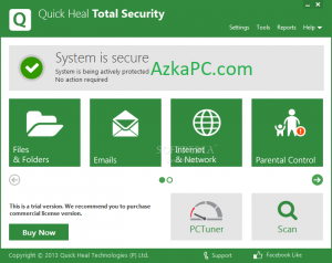 Quick Heal Total Security 12.1.1.31 Crack + Product Key Latest Version [2021]