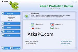 eScan Anti-Virus 14.0.1400.2228 Crack And License Key 2021