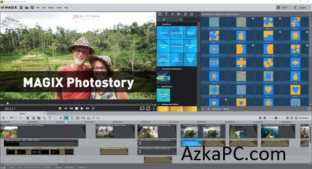 MAGIX Photostory Deluxe v20.0.1.87 Crack [Latest] Free Download